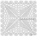 Схемы квадратных мотивов для вязания крючком с