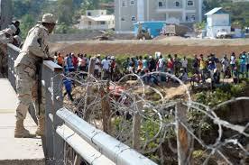 Resultado de imagen para Aumentan seguridad en la frontera por la cantidad de haitianos que intentan entrar a RD