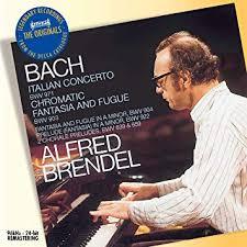 Alfred Brendel - <b>Bach</b>: <b>Italian Concerto</b> BWV 971; Chromatic ...