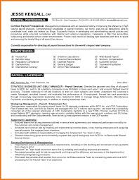 5 payroll resume assistant cover letter 5 payroll resume