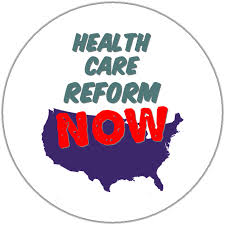 buttons to agitate for health care reform now get a public option  health care reform now usa map