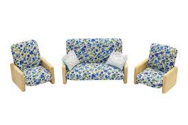 <b>Игровой набор Мебель для</b> кукол - Гостиная цвет цветочный ...