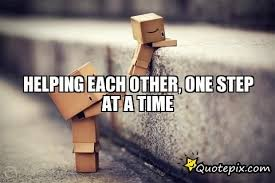 Image result for quotes about helping each other