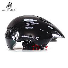 New <b>Bicycle Helmet</b> With Glasses 4 Colors Ultralight MTB Road ...
