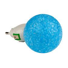 Купить <b>DTL</b>-<b>309</b>-<b>Шар</b>-<b>BLUE</b>-<b>1LED</b>-0.1W <b>Светильник</b>-ночник ...