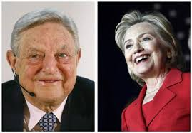 Image result for hillary and soros