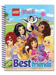 Тетрадь на спирали (70 <b>листов</b>, линейка) <b>LEGO</b> Friends ...