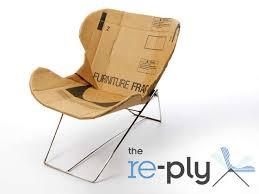 posh cardboard seating card board furniture