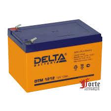 <b>Delta</b> DTM 1212 <b>аккумулятор</b> AGM для <b>ИБП</b>