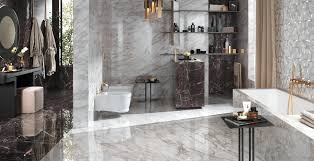 <b>Marvel Edge</b> - Marble-Effect Porcelain Tiles - <b>Atlas Concorde</b>
