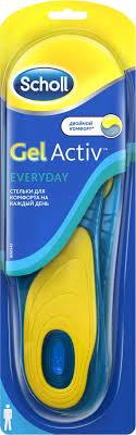 <b>Scholl GelActiv</b> Everyday <b>Стельки</b> для комфорта на каждый день ...