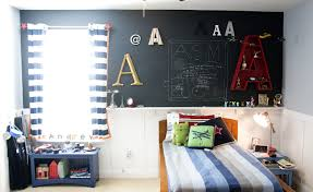 bedroom paneling ideas: kids bedroom perfect space paint kids bedroom perfect space paint ideas for little boy bedroom idea having black board as the wall paneling fancy little boy bedroom ideas bringing colorful look