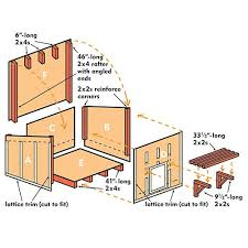 PDF Plans Large Dog House Plans Download workbench plans      large dog house plans