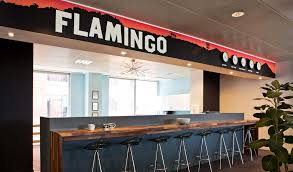 callender howorth redesigns flamingos london office interior desire funky meets functional in howorths redesign of space cool office space idea funky
