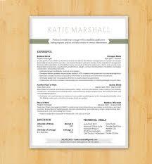 Resume Writing   Resume Design  Custom Resume Writing  amp  Design Service   Modern Design   The Katie Marshall