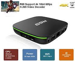 <b>R69</b> Android 7.1 OS <b>Smart TV Box</b> with 2GB RAM 16GB ROM ...