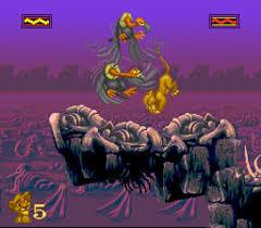 Image result for snes games lion king
