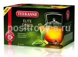 Купить <b>Чай Teekanne Elite Green зеленый</b> 20пак. (10 шт./упак.) в ...
