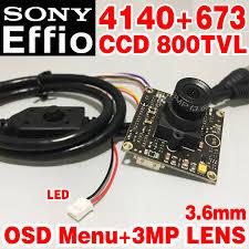 "Hot Sale <b>1</b>/<b>3""Sony CCD Effio 4140dsp</b>+<b>673</b> 800tvl Finished HD ..."