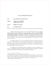 legal memorandum template memo formats legal internal memo template
