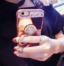 diamond mirror case for samsung
