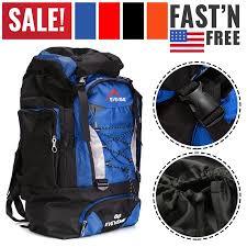 80L Extra Load Outdoor <b>Super Large Backpack</b> Big Rucksack Bag ...