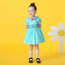Online Shop <b>2017</b> Little <b>Girl Summer Dresses</b> Cute Cartoon Cat ...