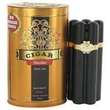 <b>Remy Latour Cigar Black</b> Oud Eau De Toilette Spray for Men 3.3 oz