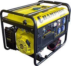 Купить <b>Бензиновый генератор CHAMPION GG7501E</b>, 220 В, 6.5 ...