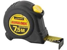 <b>Рулетка</b> 7,5 м х 25 мм <b>STAYER</b> MASTER <b>AUTOLOCK</b>, корпус с ...