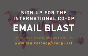 finding a job co operative education simon fraser university the co op website for more information
