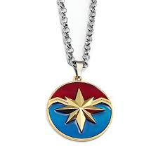 Online Shop Avengers 4 Captain Marvel Leather Bracelet For ...