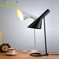 2019 <b>Modern Replica Louis</b> Poulsen <b>AJ</b> Table Lamp Black White ...