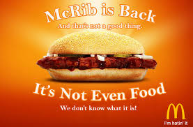 Image result for Mcrib