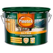 Антисептик <b>Pinotex Ultra</b> 9 л полуглянцевый купить по цене ...