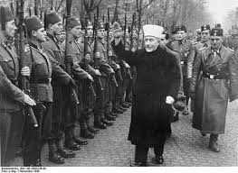 Image result for al husseini with hitler images