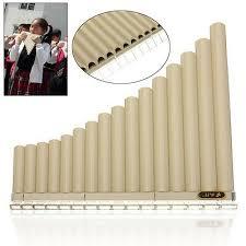 AU Beginners Pan <b>Flute 16 Pipes</b> Music Instrument Panpipe Easy ...