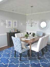 dining room sets french trovi white and blue dining room cobalt amp white dining room