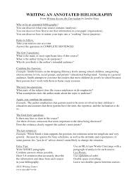 annotated bibliography essay example Sample APA Annotated Bibliography