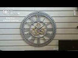 Настенные <b>часы Rhythm</b> CMG478NR08. - YouTube