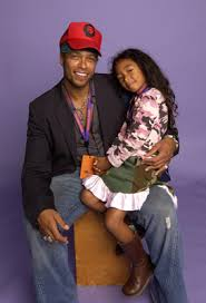 Photo of Gary Dourdan & his  Daughter  Nyla Durdin