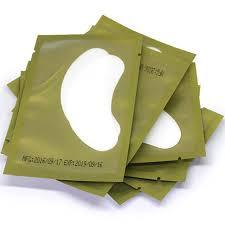 50/100Pair Paper Patches Under Eye Pads Gel Eye Stickers <b>Graft</b> ...
