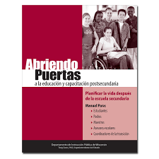 opening doors to post secondary education and training planning opening doors to post secondary education in spanish cover