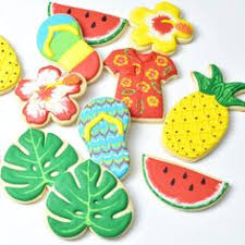 <b>Hawaiian pineapple party</b> cookies by The Cookie Confectionery ...