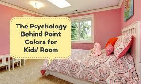 The Psychology Behind <b>Paint Colors</b> for <b>Kids</b>' <b>Room</b>