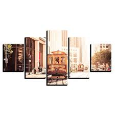 <b>Canvas HD</b> Prints Painting Home Decor Framework Pictures 5 ...