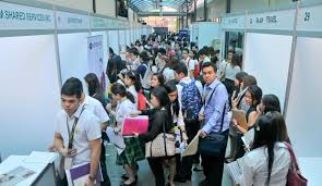 take job fairs seriously students told far eastern university the alumni placement expo apex was held last 12 and 13