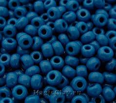 <b>Бисер</b> чешский <b>preciosa 10/0</b> Непрозрачный, <b>33210</b> Blue купить в ...