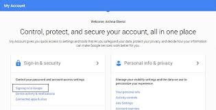 Image result for google signing in and security