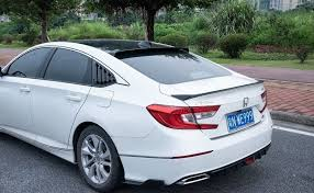 <b>Спойлер</b> багажника сабля Honda Accord 2018+ г.в. Хонда Акорд ...